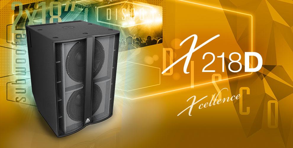 Пассивный сабвуфер Amate Audio X218D