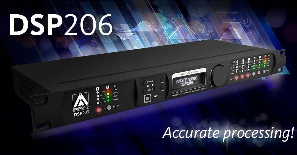 Цифровой контроллер звуковых систем Amate Audio DSP206