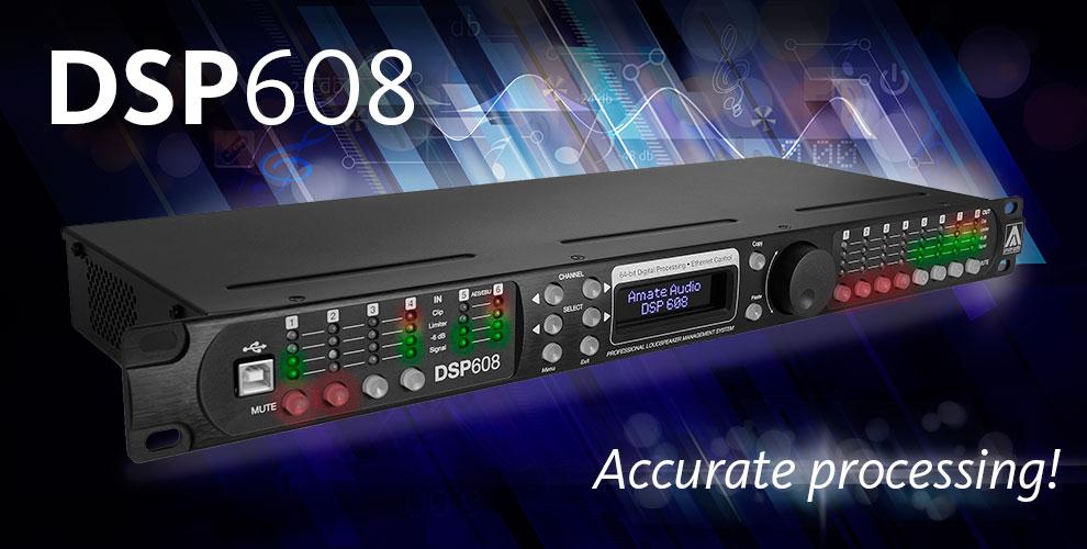 Цифровой контроллер звуковых систем Amate Audio DSP608