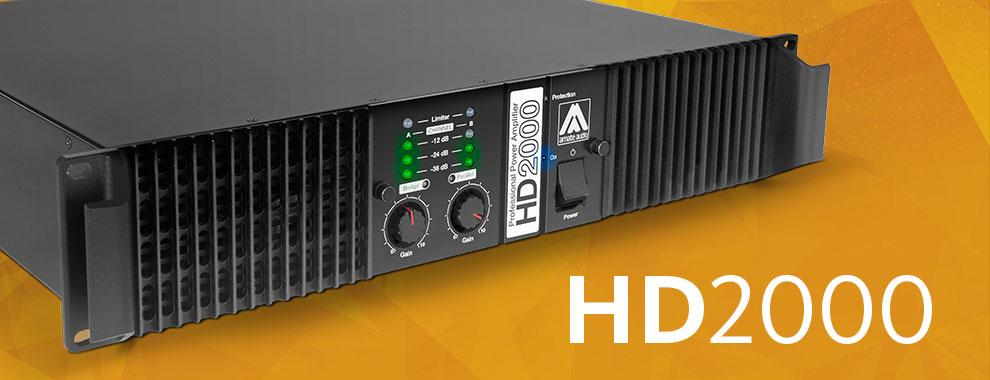 Усилитель мощности Amate Audio HD2000