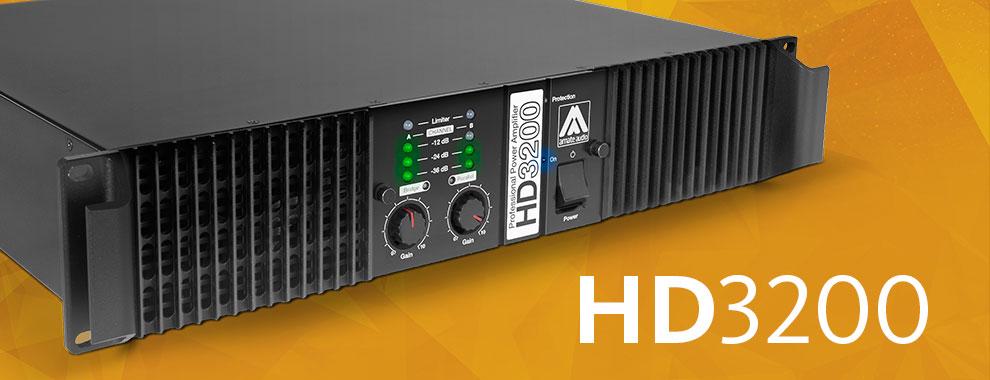 Усилитель мощности Amate Audio HD3200