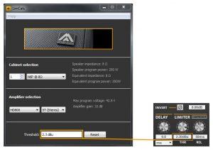 Приложение Amate Audio LimCal