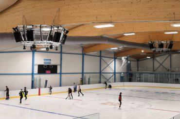Amate Audio Nítid для ледовой арены в Кембридже